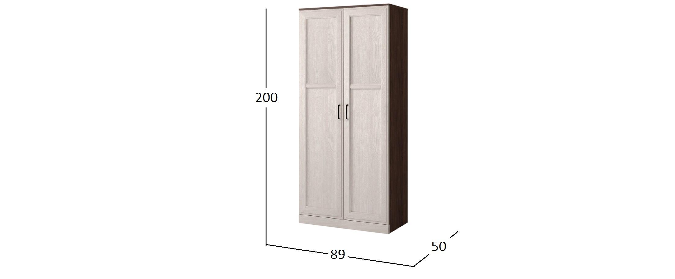 Шкаф 2-х дверный Стелла Модель 904